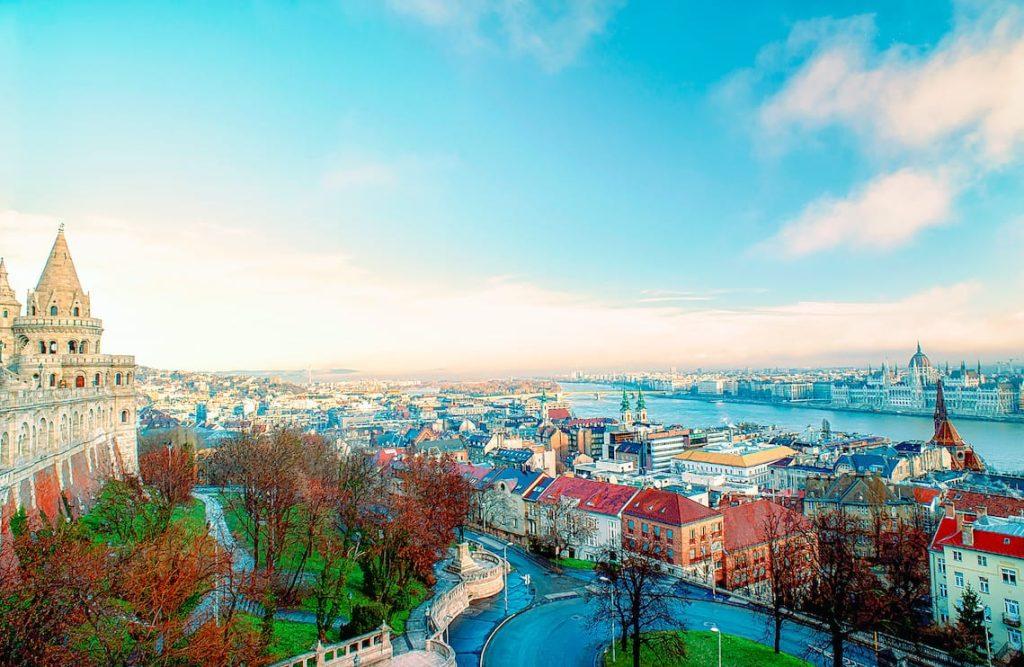 Budapest citadel view
