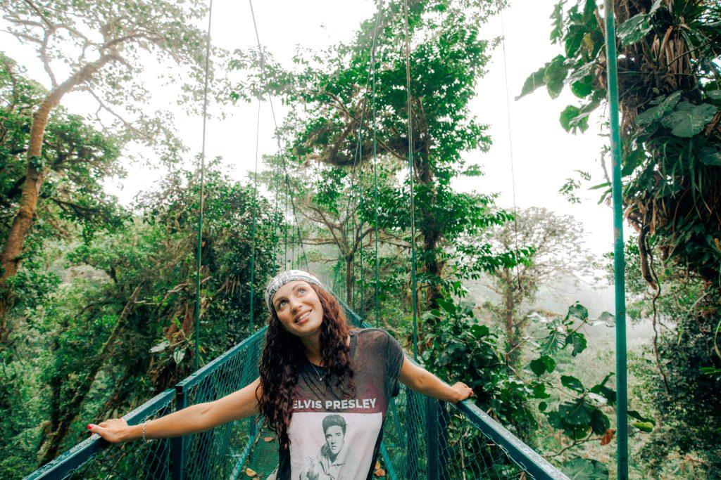 Costa Rica hanging bridges Selvatura