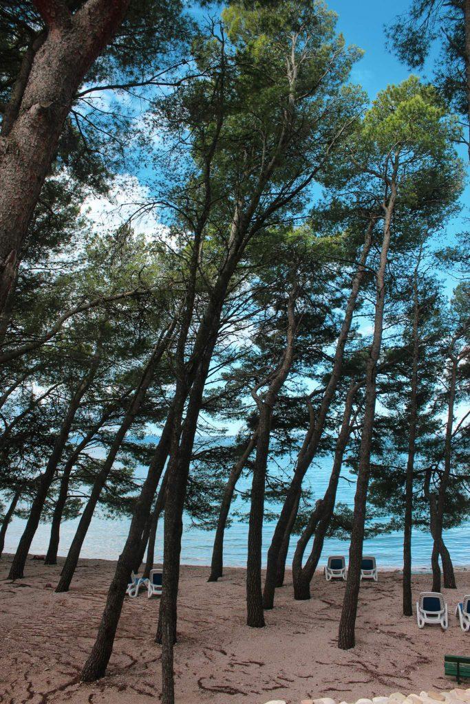 Dalmatian coast Croatia beaches