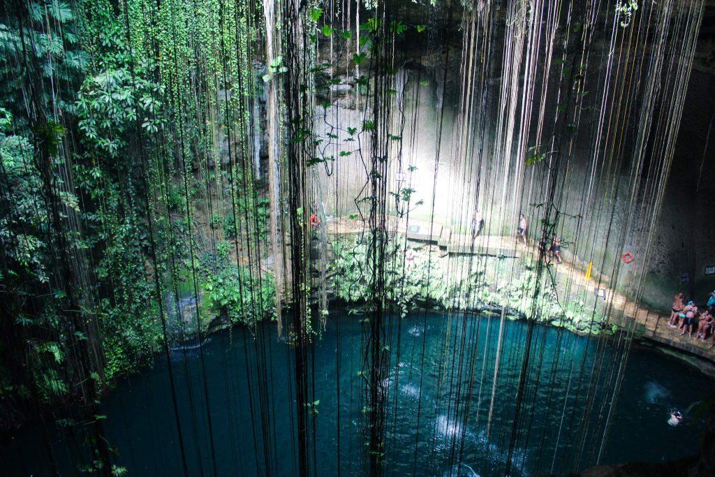 Il Kil cenote mexico