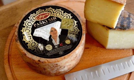 Pag cheese Croatia food