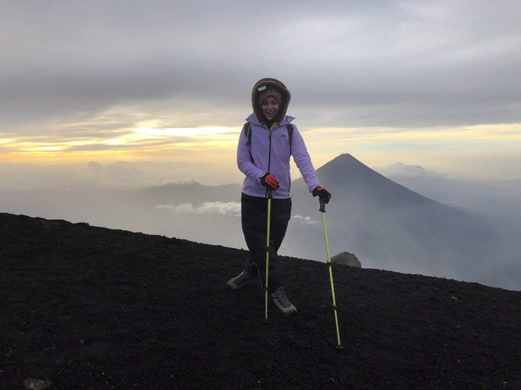 Volcano Acatenango summit