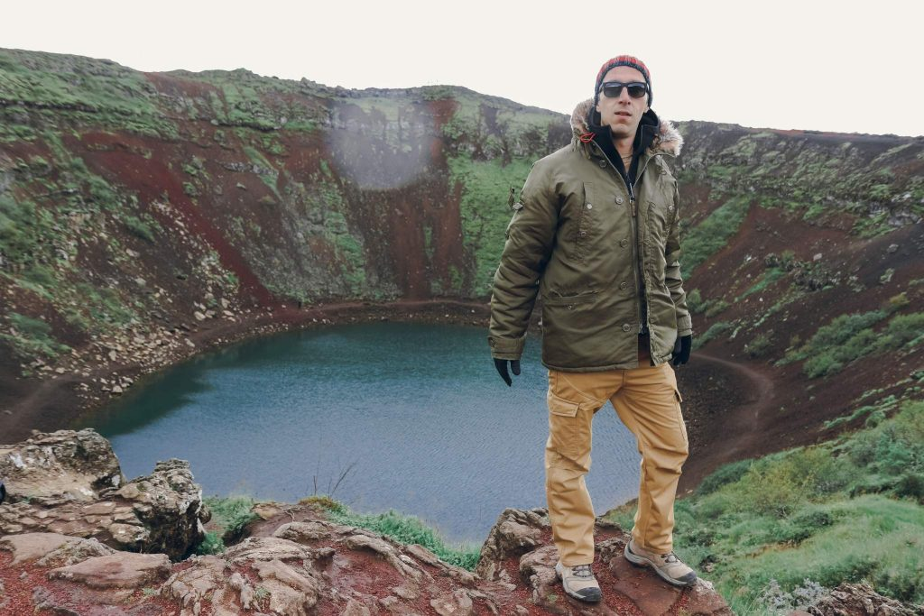 Iceland Golden Circle Kerid Crater