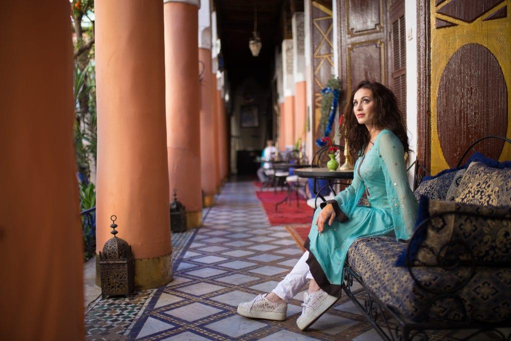 Marrakesh riad Morocco
