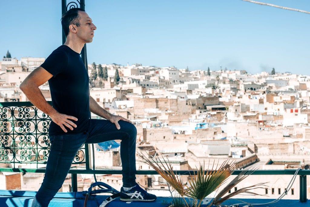 Morocco travel Riad stay. 17