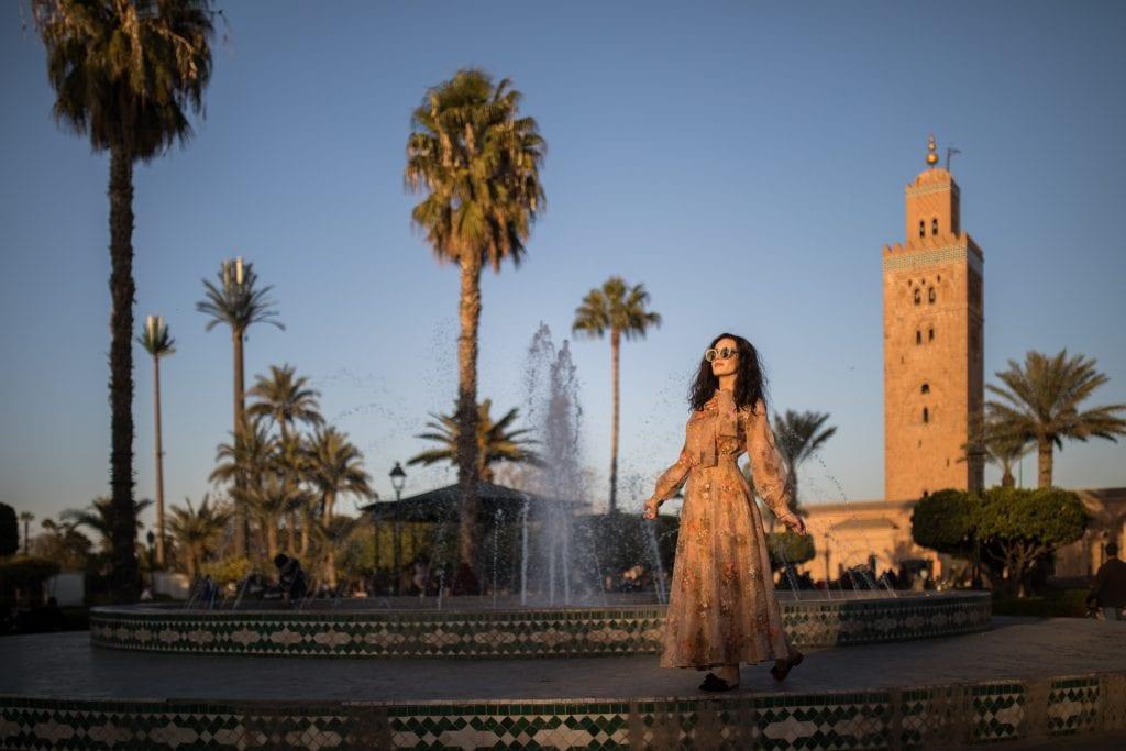 Marrakesh Koutoubia Mosque travel
