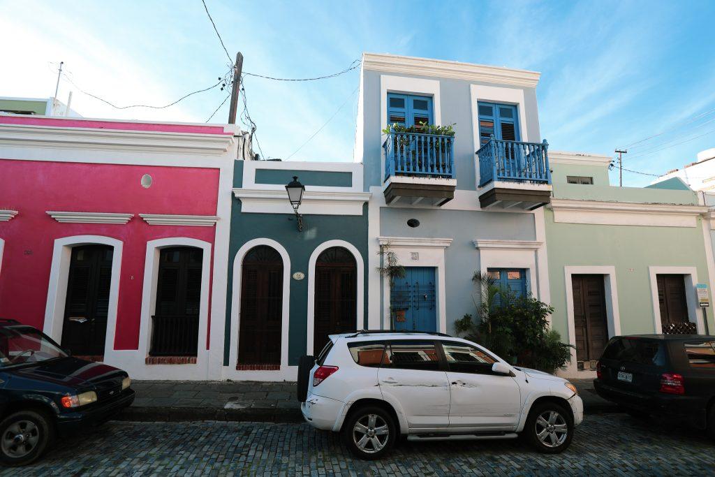 Old San Juan buildings