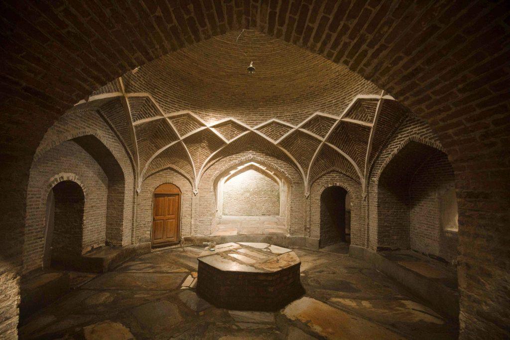 Hammam interior Bukhara