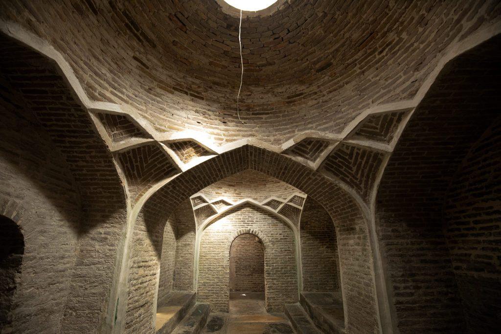 Hammam inside interior