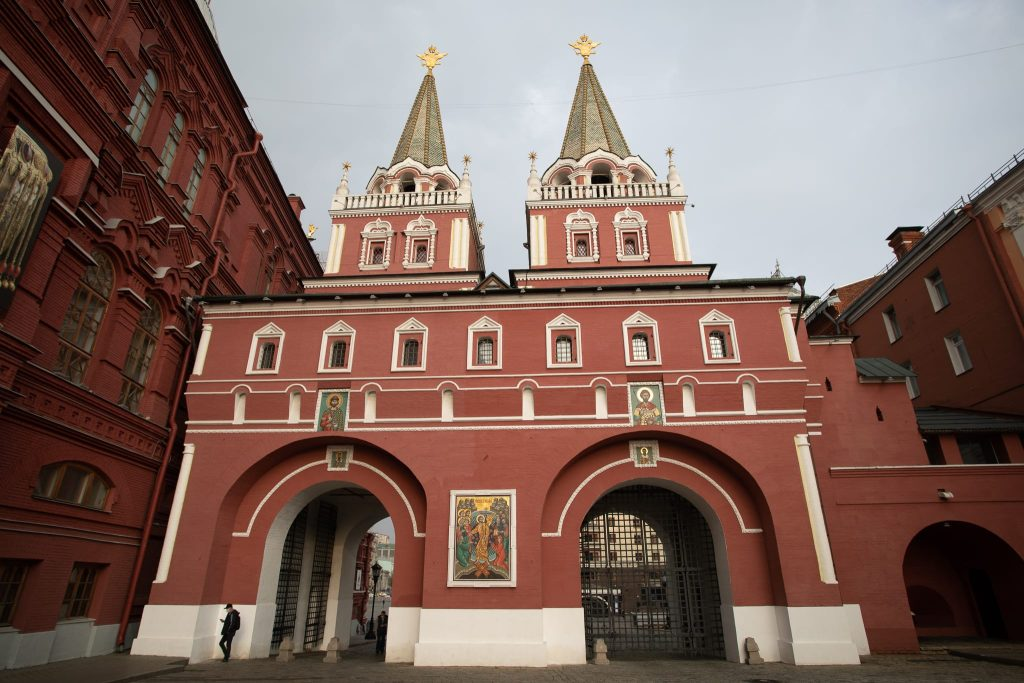 Resurrection gate red square