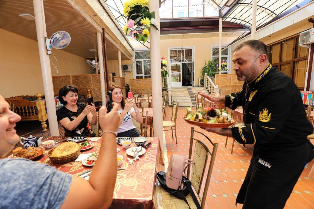 Uzbekistan food cuisine