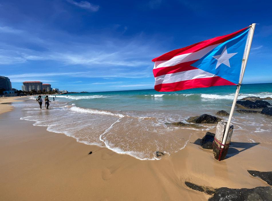 San Juan Beach Puerto Rico