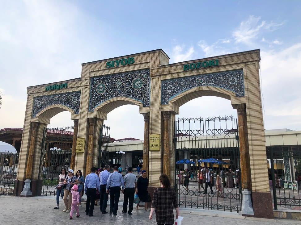 Samarkand Siab Bazaar
