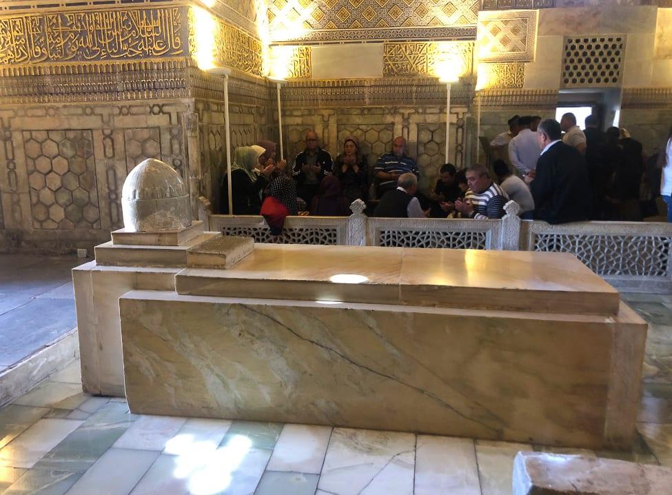 Gur Emir Mausoleum interior