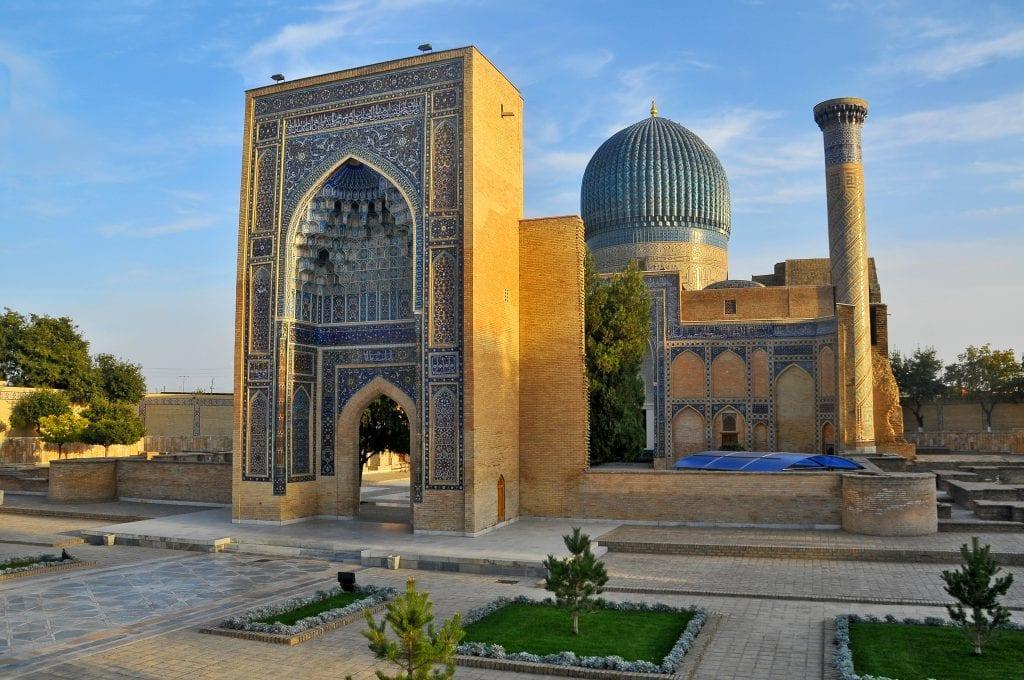 Gur Emir Mausoleum Samarkand architecture