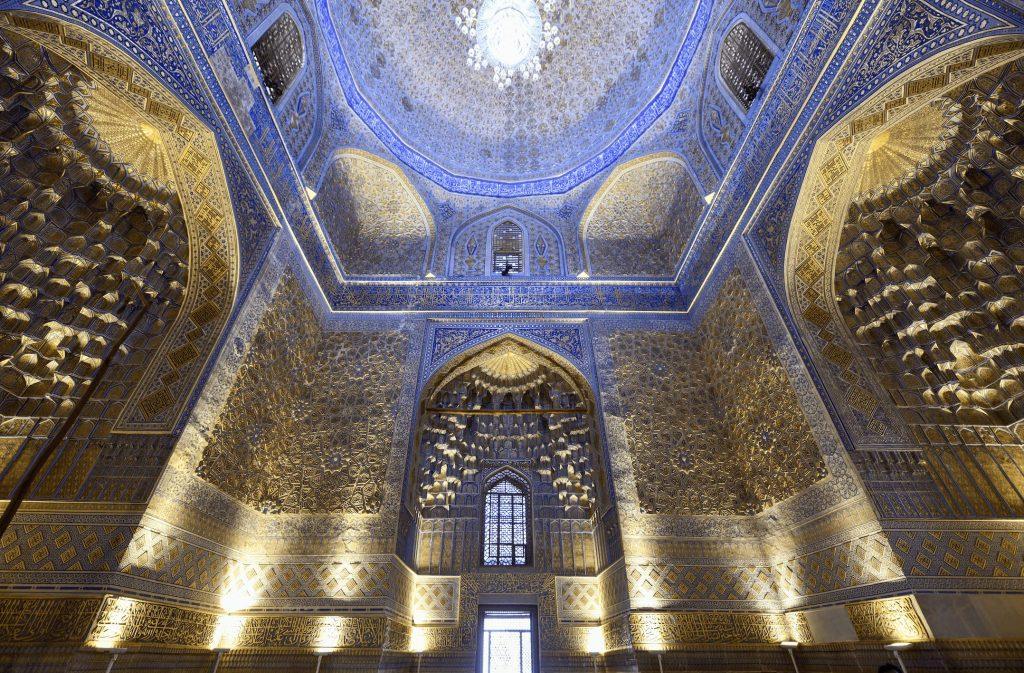 Gur Emir Mausoleum Samarkand interior