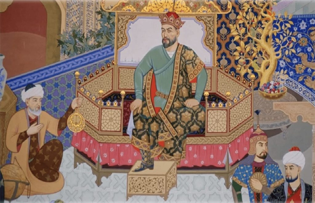Timur Amir Tamerlan legend Samarkand