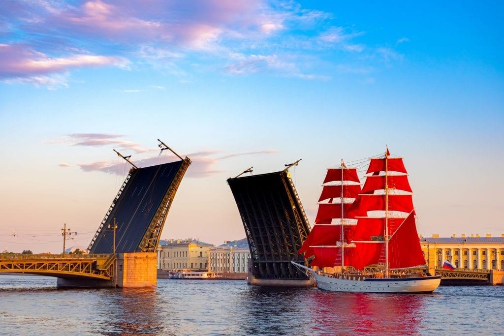 Saint Petersburg bridges