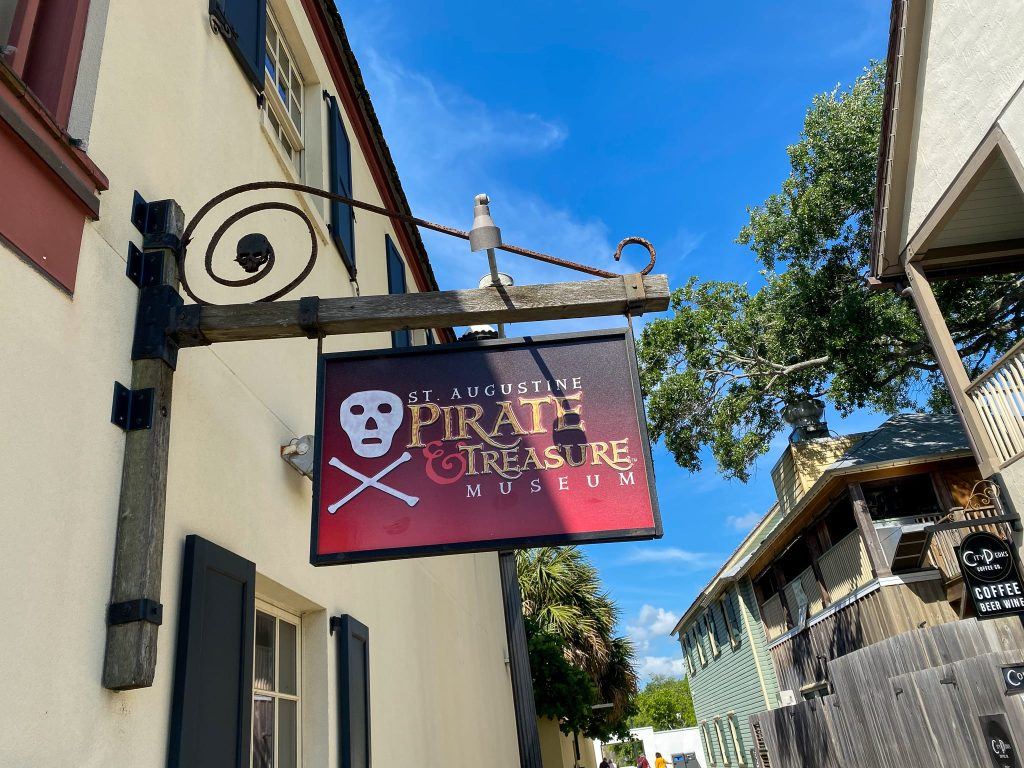 St Augustin pirate museums