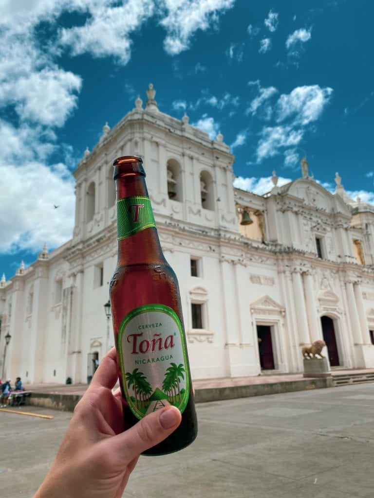 Nicaragua beer Tona