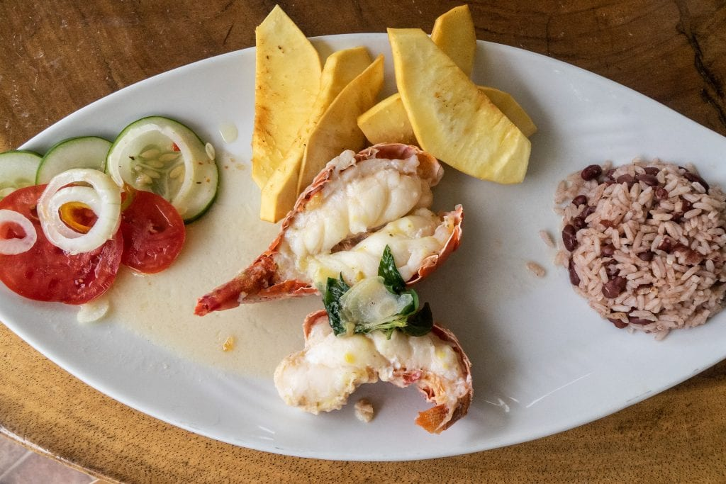 Puerto Rico food plantains lobster